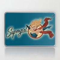 Supergirl Bombshell Laptop & iPad Skin