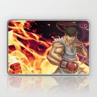 Ryu Street Fighter Laptop & iPad Skin