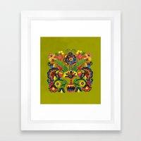 Ornament_1 Framed Art Print