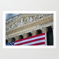New York Stock Exchange Art Print
