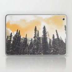 Orange Skys Above the Pines Laptop & iPad Skin