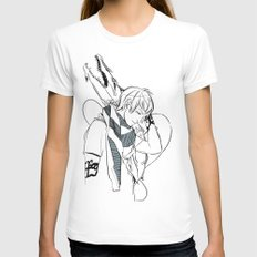 Dragonheart Womens Fitted Tee White SMALL