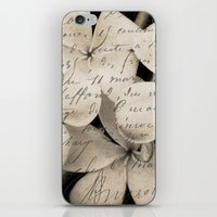 Letter from Paradise iPhone & iPod Skin