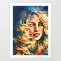 Bend And Not Break Art Print