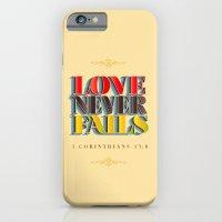 Love Never Fails! iPhone 6 Slim Case