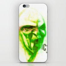 Acid Face iPhone & iPod Skin