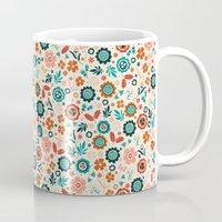 Folk Flowers Mug
