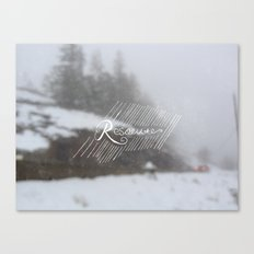 Resolute Canvas Print