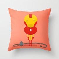 My ironing Hero! Throw Pillow
