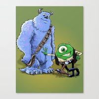 Hike And Chulley Canvas Print