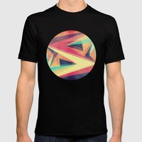 Directions Mens Fitted Tee Black SMALL