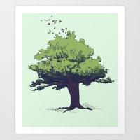 Arbor Vitae - Tree Of Li… Art Print