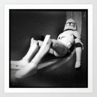 Death Star Construction … Art Print