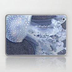 🔵 Blue Denim Mosaic Jellyfish Laptop & iPad Skin