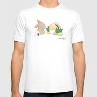 Sushi Mens Fitted Tee White SMALL