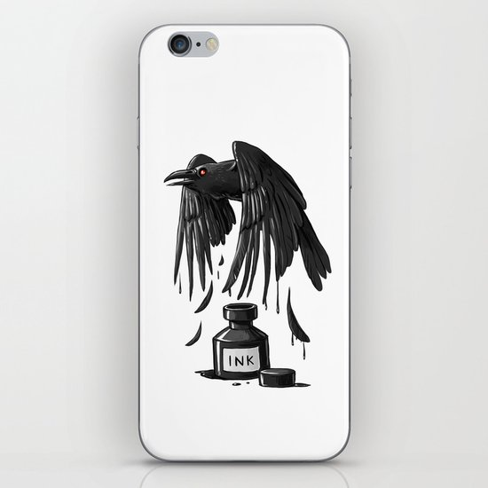 Ink Raven iPhone & iPod Skin