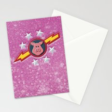 Swinetrek Logo Glitter Poster Stationery Cards