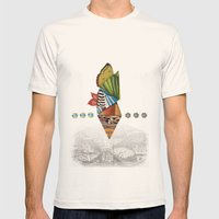 The Lost City Mens Fitted Tee Natural SMALL