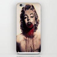 Vampire Marilyn Monroe iPhone & iPod Skin