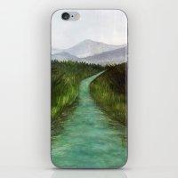 The Adventure Begins iPhone & iPod Skin