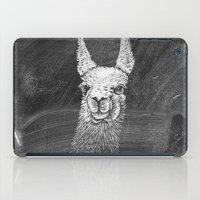 Black White Vintage Funn… iPad Case