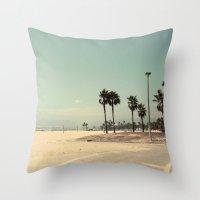 Venice Beach Number 2 Throw Pillow