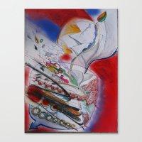 Jupiter Juice Canvas Print