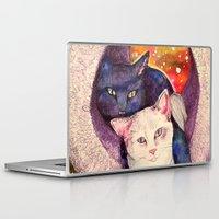 zelda Laptop & iPad Skins featuring nick & zelda by Beth Jorgensen