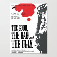 The Good, The Bad And Th… Canvas Print