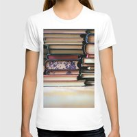 T-shirt featuring vintage pages by kolya korzh