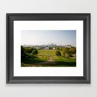 Greenwich Park Framed Art Print