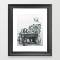In Which A Cosmonaut Is … Framed Art Print