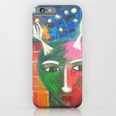 She Lives in a Time of Her Own iPhone 6 Slim Case