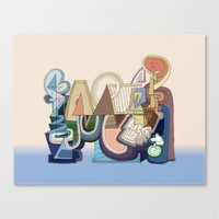 Abstract Drawing 9508 Canvas Print