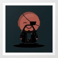ChibizPop: Fury Art Print