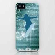 Snowboarding iPhone (5, 5s) Slim Case