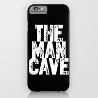 The Man Cave - Inverse iPhone 6 Slim Case