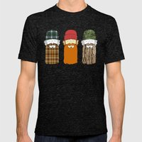 Trio Mens Fitted Tee Tri-Black SMALL