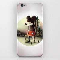 Mickey's Kingdom iPhone & iPod Skin