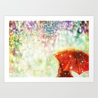 DIAMOND SKY Art Print