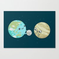 I'd Give You The Moon Canvas Print