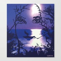 Vesperal Apparition Canvas Print