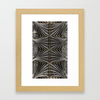 Ceiling Bosses Framed Art Print