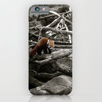 The Lone Red Panda iPhone 6 Slim Case