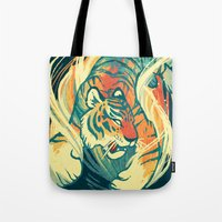 Astral Tiger Tote Bag