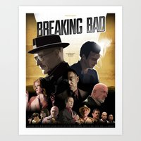 Breaking Bad - Complete … Art Print