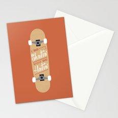 I be Skatin', You be Hatin' Stationery Cards