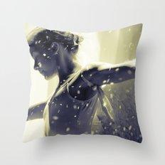 Noir Redux Throw Pillow