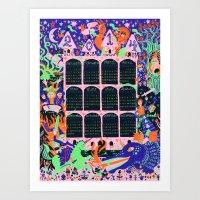 2014 Fantasy Wall Calend… Art Print