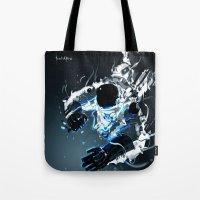 Gravity Vortex Tote Bag